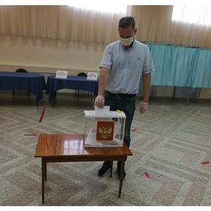 Воронежские активисты ОНФ проголосовали по поправкам в Конституции