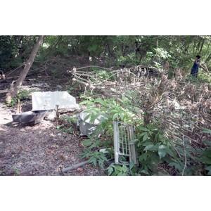Недобросовестных жителей поселка Цыганский просят не мусорить