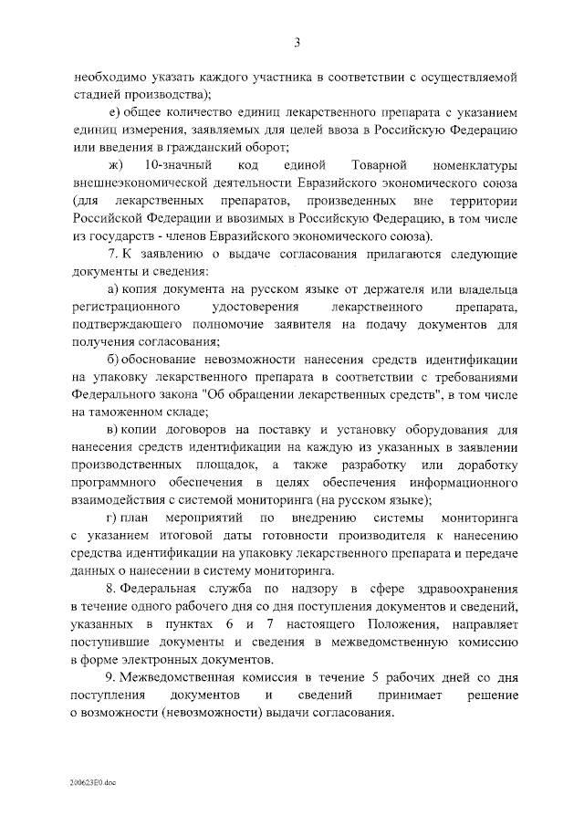 Об особенностях ввода в гражданский оборот лекарств для мед.применения