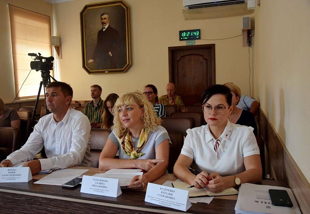 Яков Силин внес предложения по развитию г. Евпатории