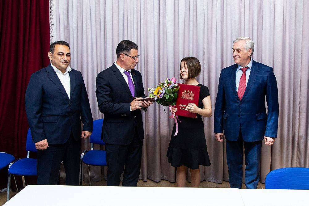 Награждение чемпионки мира по шахматам прошло в УрГЭУ