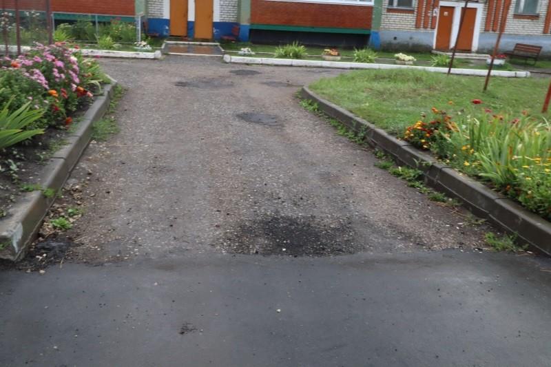 Активисты ОНФ в Мордовии выявили нарушения при ремонте двора