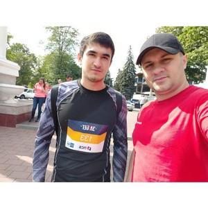Активист «Молодежки ОНФ» КБР финишировал в полумарафоне ЗаБег.РФ
