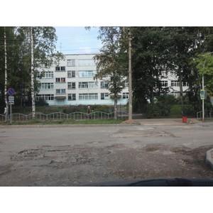 ОНФ в Коми призвал в первую очередь ремонтировать дороги возле школ