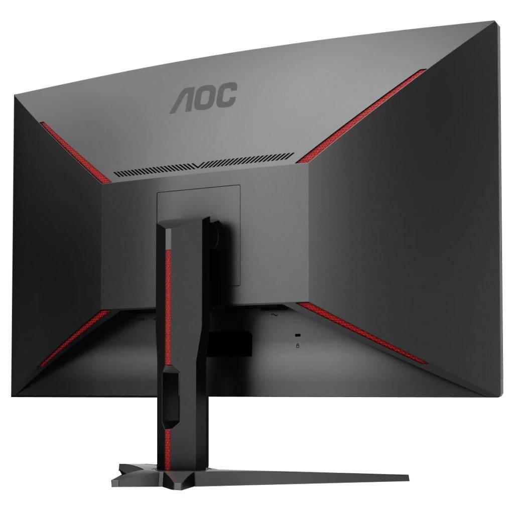 AOC CQ32G1 - вид сзади