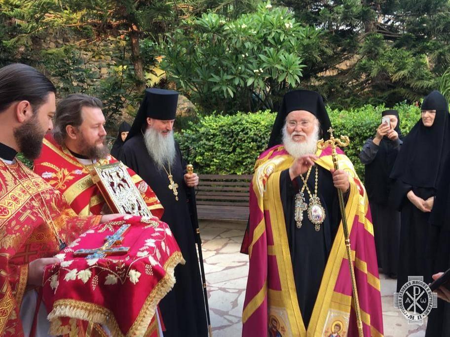 В городе Магдале (Израиль) почтили память святой Марии Магдалины