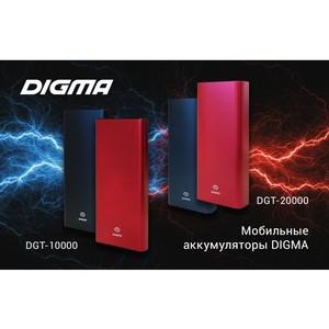 Карманные помощники — новые мобильные аккумуляторы от Digma