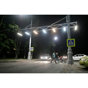 В Курчатове появился уникальный пешеходный переход «Воздушная зебра»