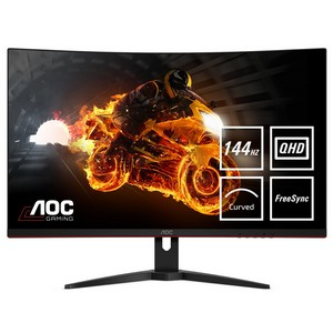 Обзор игрового монитора с 32-дюймовым изогнутым экраном - AOC CQ32G1