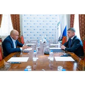 Липецкий губернатор и глава «Россети Центр» обсудили сотрудничество