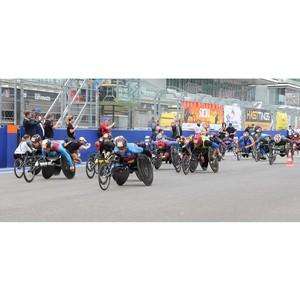 VI Международный полумарафон на спортивных колясках Рецепт-Спорт