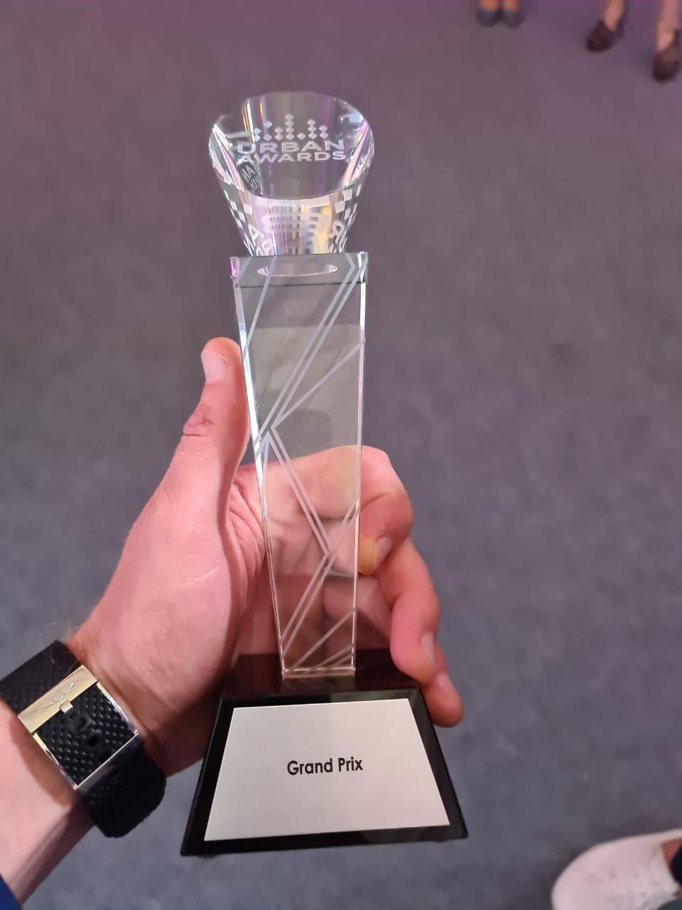 ЖК «Граффити» СК «Ойкумена» взял Grand Prix премии Urban Awards