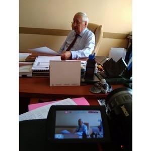 Начались съемки интервью со спикерами диктанта «Я – гражданин!»