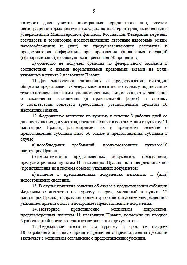 Подписано постановление о правилах возврата средств при покупке туров