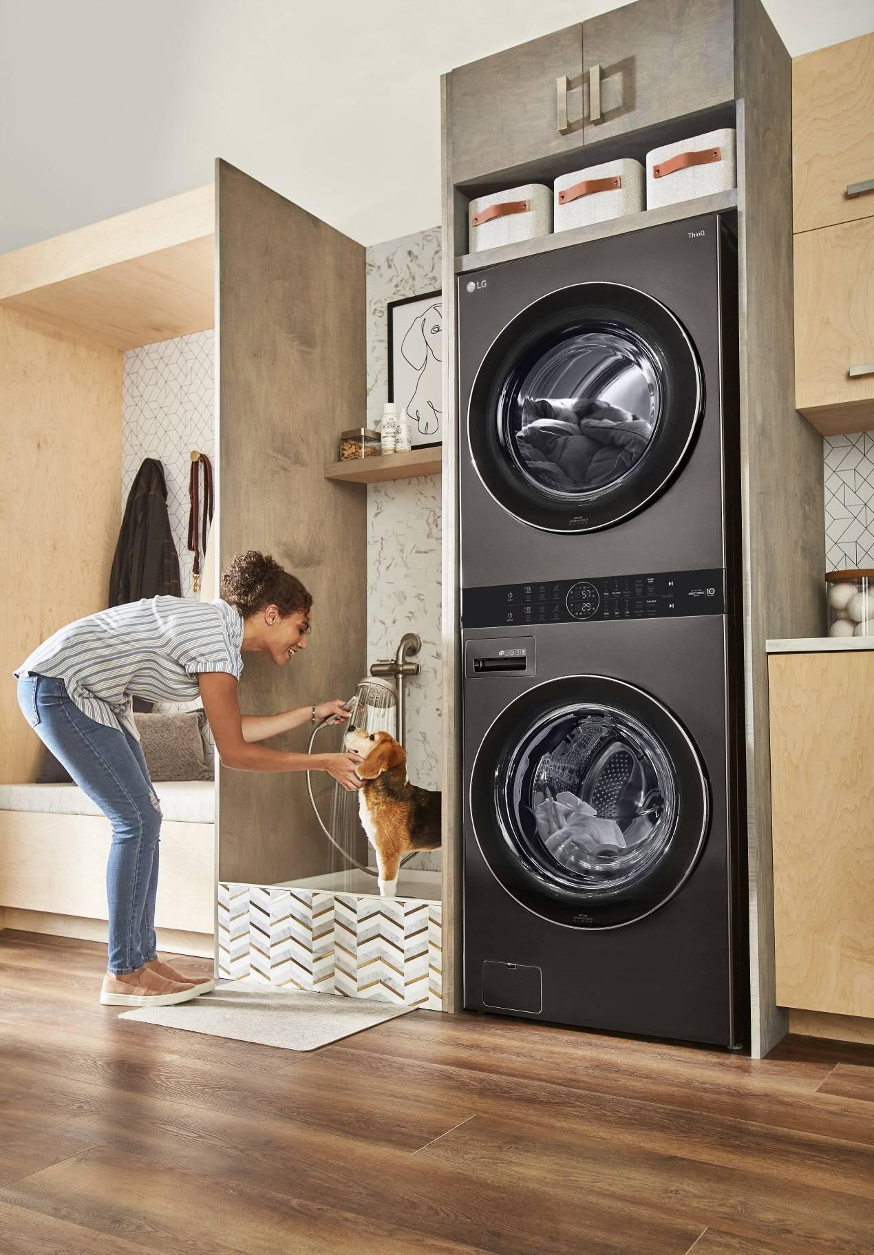 LG Washtower устанавливает новые стандарты в уходе за одеждой