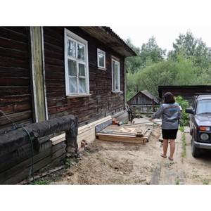 ОНФ в Коми добился ремонта канализации деревянного дома в Сыктывкаре
