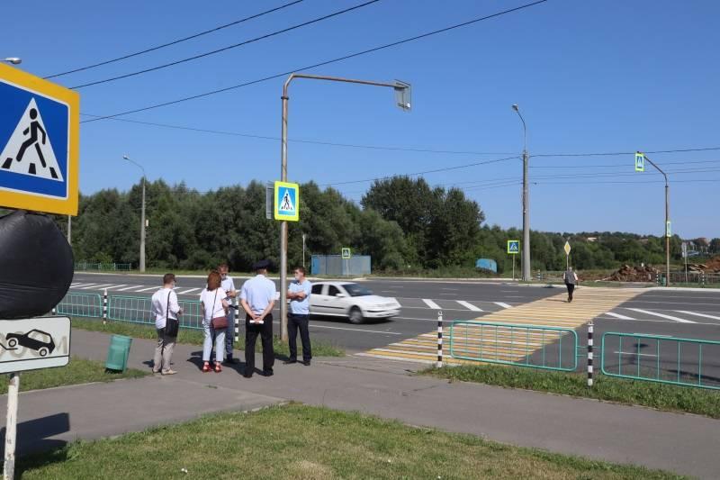 После рейда ОНФ исправляют недочеты на пешеходных переходах Саранска