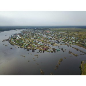 ОНФ в Коми помогает пострадавшим от паводка жителям села