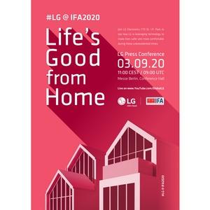 LG приглашает посетить выставку IFA 2020 в онлайн-формате