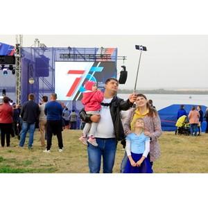 Празднование 75-летия атомной промышленности в Курчатове