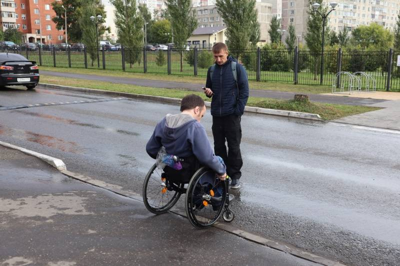 В Саранске улично-дорожная сеть не адаптирована для инвалидов