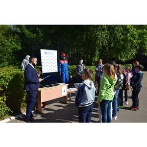 Специалисты «Мариэнерго» провели открытой урок по ОБЖ