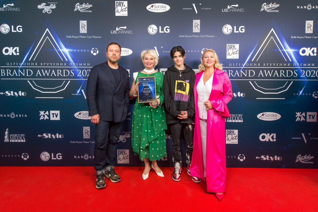 LG Electronics стала победителем премии Brand Awards