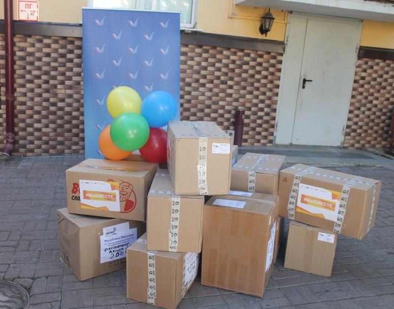 Участники акции #МыВместе передали больницам Мордовии СИЗы