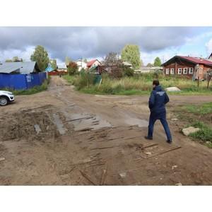 Коми ОНФ призвал власти выполнить свои обязательства по ремонту дороги