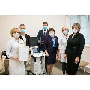 «Газпром переработка» приобрела аппарат УЗИ для детского центра