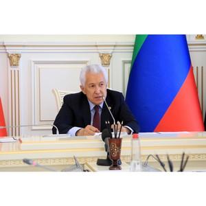 Глава Дагестана выразил слова благодарности Министерству обороны