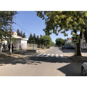 ОНФ призывает устранить недостатки на дорогах около школ Михайловки