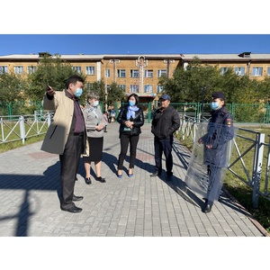 ОНФ в Туве добивается благоустройства маршрутов к школам Кызыла