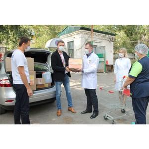 Активисты #МыВместе передали СИЗ в клиническую больницу №3 Волгограда