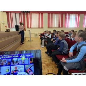 Удмуртэнерго рассказывает детям республики об опасности электричества