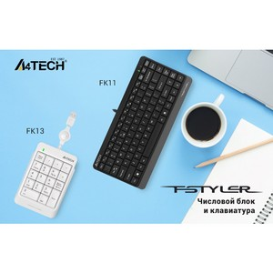 Новая клавиатура и числовой блок A4Tech из серии Fstyler