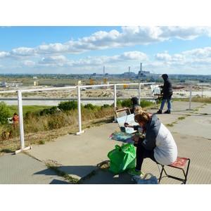 Курская АЭС стала объектом вдохновения художников