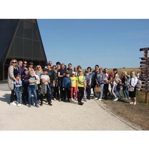 Сотрудники Тамбовэнерго побывали с экскурсией на «Кудыкиной горе»