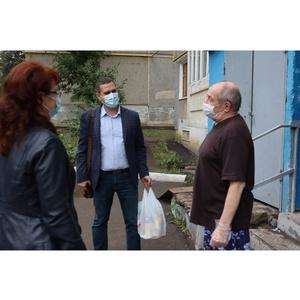 В Мордовии продуктовую помощь с «Тележек добра» получили 88  семей