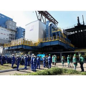 В России применена новая технология промышленного монтажа