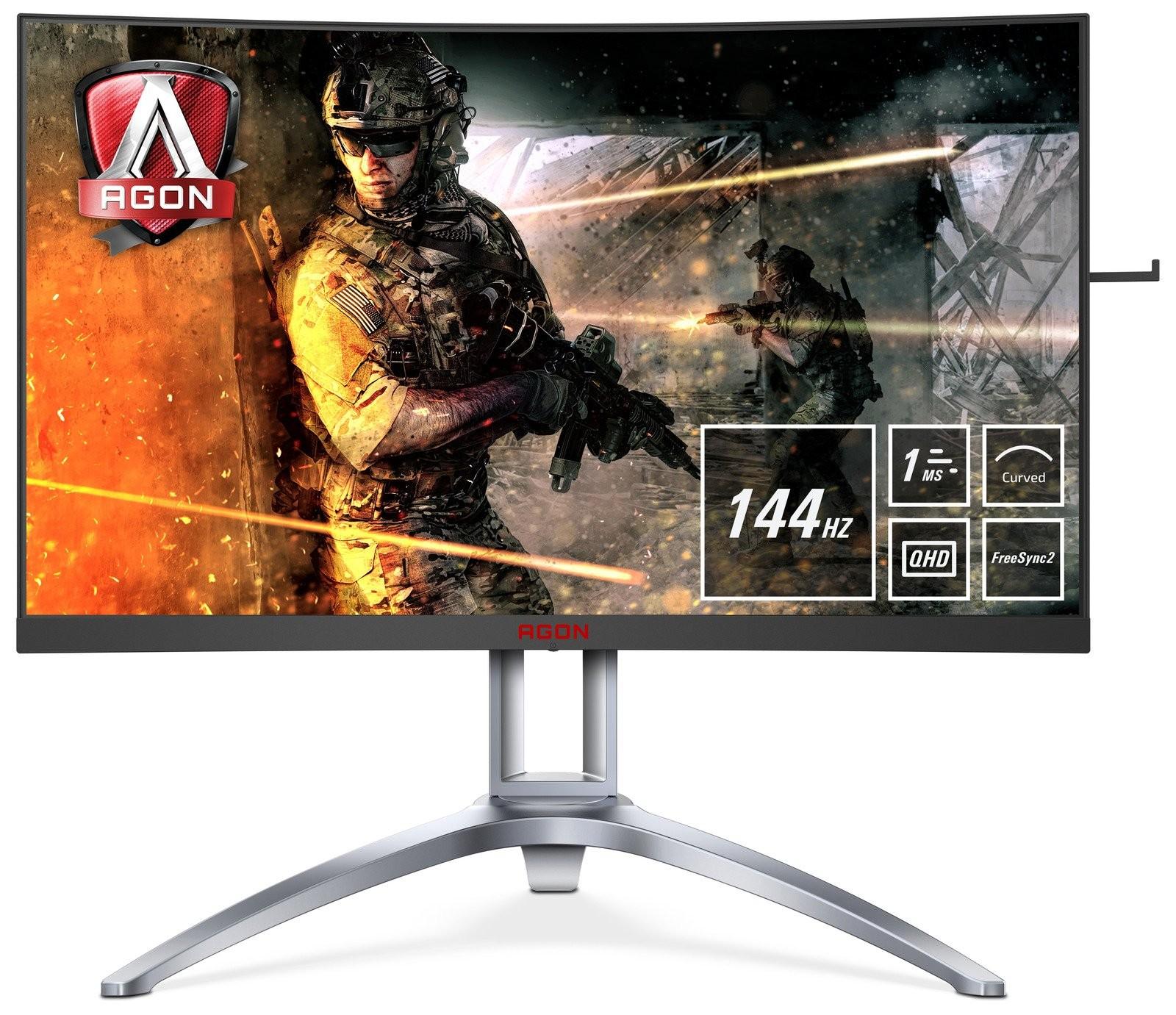 Обзор игрового монитора AOC AG273QCX