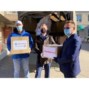 Участники клуба «МыВместе» передали партию СИЗов медикам Котельниково