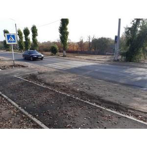 ОНФ помог сделать безопасней улицу Рязанцева в Семилуках