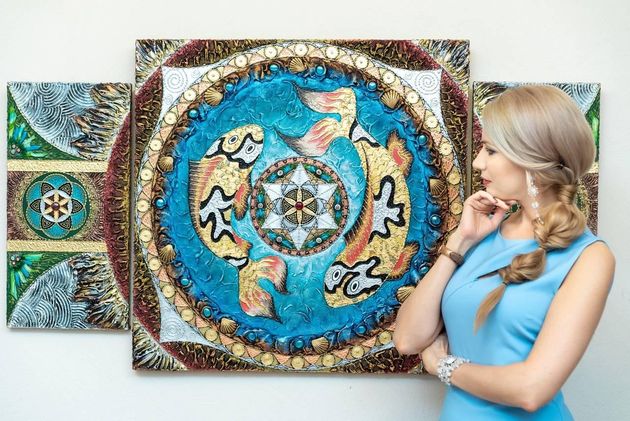 Художница Елена Карлова: Мои картины помогают изменить жизнь к лучшему