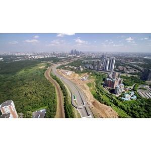 АО МИСК завершило строительство Южного дублера Кутузовского проспекта