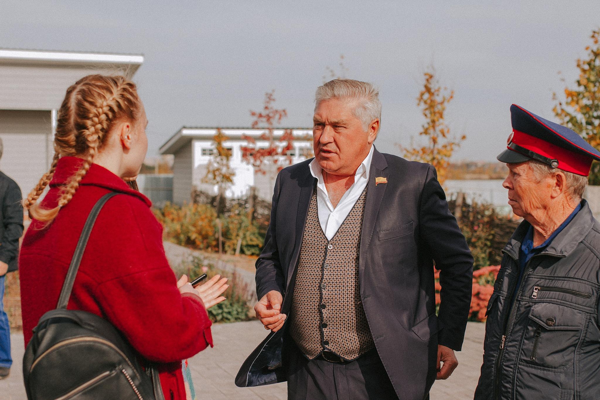 Атаман Общины казаков Чувашии Андрей Беликов встретился с молодёжью
