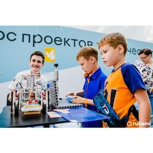 100 проектов вышли в финал Всероссийского конкурса Rukami