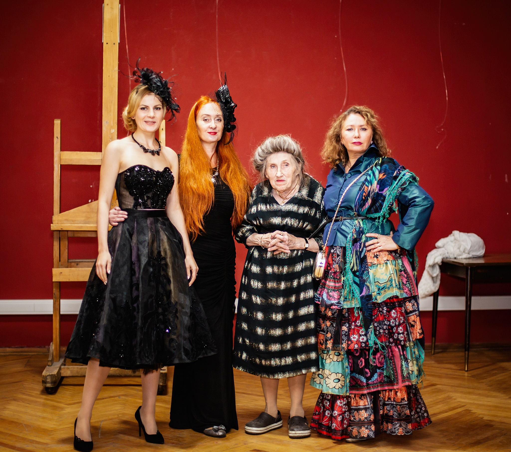 Марина Вайнпрес, Мария Дарская, Альбина Евтушевская, Лариса Маликова