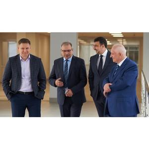 Состоялся визит руководства Фонда Андрея Мельниченко в СФУ