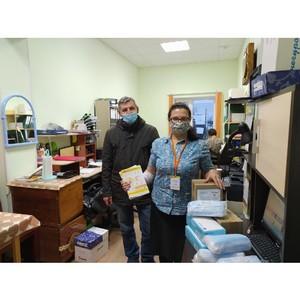 В Коми штаб#МыВместепередал СИЗы сельским волонтерам акции